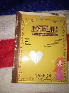 Naked eyelid