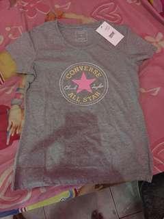 Converse grey tshirt