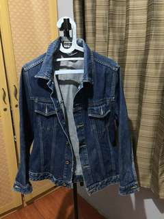 Jaket Jeans giordano original