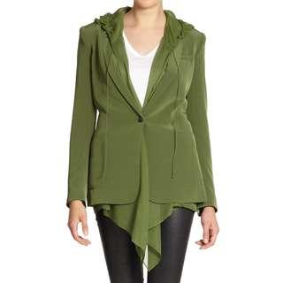 Elizabeth and James 'Mona' Hooded Crepe & Satin Vest - 83% Off!!