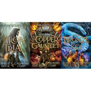 Magisterium Series by Holly Black and Cassandra Clare