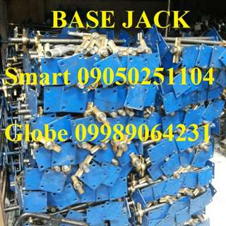 Brand New Base Jack 32mm x 400mm Form Works Scaffolding