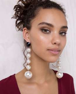 Pearl Design Earrings