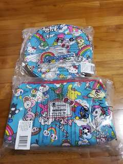 [BNWT] JJB Rainbow Dreams Be Bop & Be Set Bundle