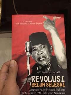 Revolusi Belum Selesai by Ir.Soekarno