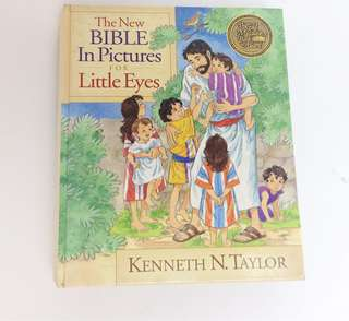 *Negotiable*The New Bible in Pictures for Little Eyes