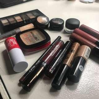 Mac, ofra, yadah, loreal, maybelline makeup UPLOADING TODAY