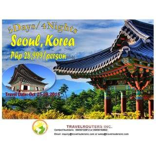 5D4N KOREA PACKAGE
