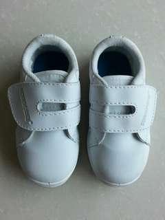 Girl/Boy Toddler White School Shoes Velcro Type