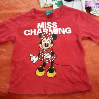 Mickey Mouse tshirt long sleeve