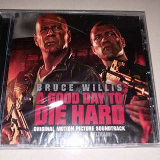 《虎胆龍威 A Good Day to Die Hard》電影原聲 CD(正版,全新)