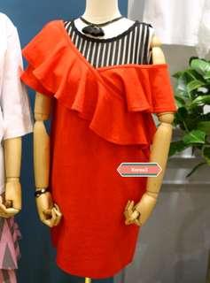 🆕4色 露肩連身裙(有款得嚟又遮手臂😍)