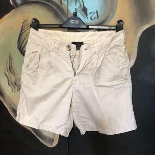 TOPSHOP Beige Shorts