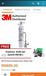 3M water filter AP easy