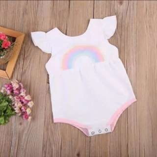 Sweet Rainbow Romper Suit