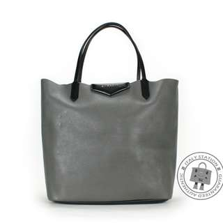 (NEW) GIVENCHY 13L 5315 111 ANTIGONA SHOPPING GOAT MEDIUM TOTE BAG GHW, ELEPHANT GREY / 031 全新 手袋 灰色