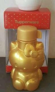 Hello kitty tupperware bottle