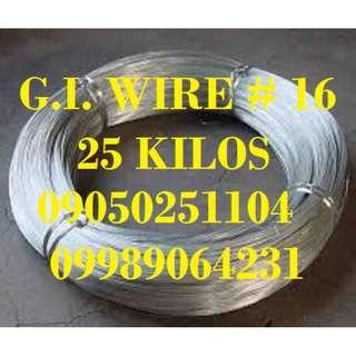 Galvanize Iron Wire G.I. Wire