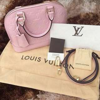 Louis Vuitton Alma Bb Vernis