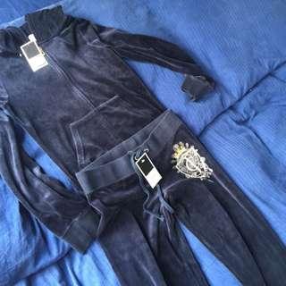 Authentic Juicy Couture Velour Tracksuit