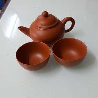 茶壶,杯一套