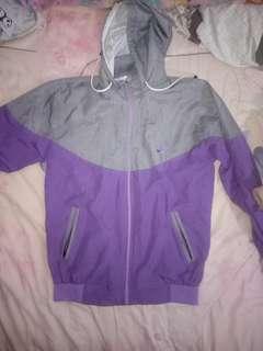 Jaket sport Nike Purple
