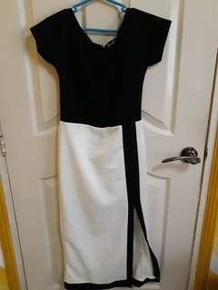 Preppy Formal Long Dress