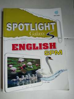 Spm english book