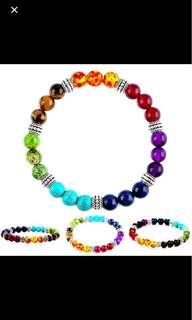 Chakra bracelet Genuine wbox