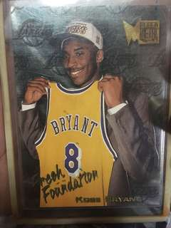 Nba Card Kobe Bryant 1996