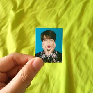 bts seokjin id photo