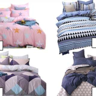 Bedsheet Set (4 in 1)