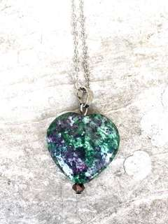 Ruby in Zoisite pendant / necklace