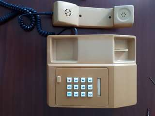 Early 80s vintage telephone
