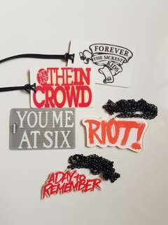 Band Merch - Bag tags & Necklace