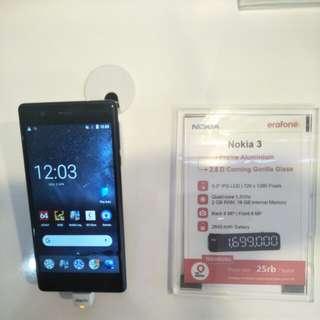 Promo Cashback Cicilan Tanpa Kartu Kredit Nokia 3