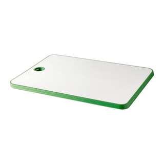 [IKEA] MATLUST Chopping board, green/white