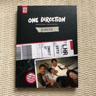 One Direction Take Me Home Yearbook
