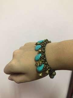 Thailand tiffany blue bracelet