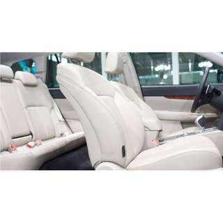 LEATHER SEAT WRAP UPHOLSTERY CARS