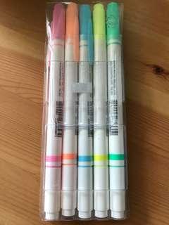 5色螢光筆