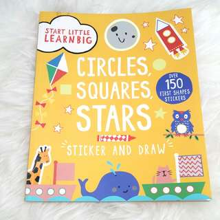 Baby book - stickers and learn to draw