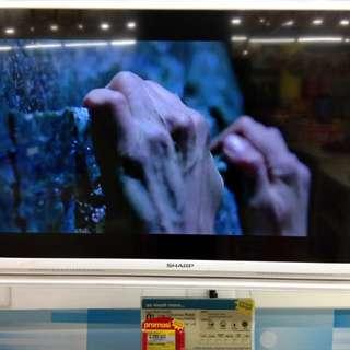 "Kredit led tv sharp 32"". Promo dp 0% dan free 1x cicilan"