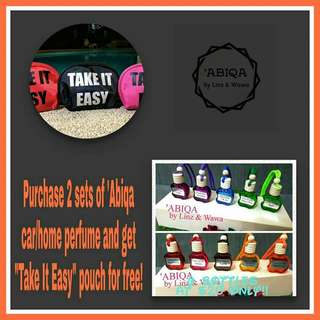'Abiqa Car Perfume