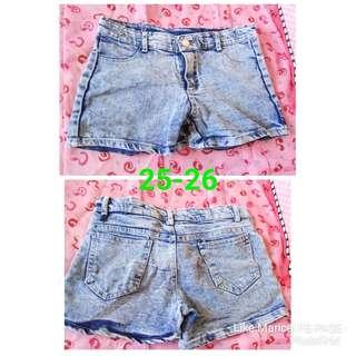 Denim shorts 2