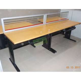 Linear Workstation - office partition furniture