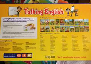 Grolier Talking English (1 Talking Pen with Charger, 20 books)