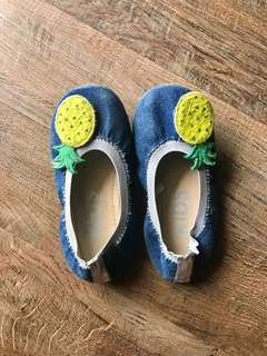 Denim Cotton On Kids Shoes (Size 10)