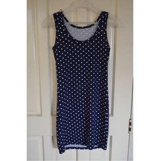 Polkadot Fitted Dress