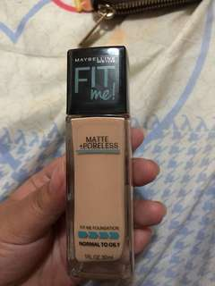 Maybelline Fit Me Foundation- 120(classic ivory)